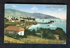 c1920s View of Baia do Funchal, Boats & Village, Madeira