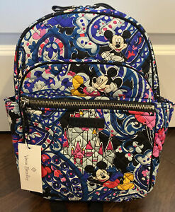 NEW Vera Bradley MICKEY'S WHIMSICAL PAISLEY Iconic Small Backpack - Purse EXACT