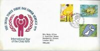 Irish Times - International Year Of The Child 1979 First Day Cover - UK FREEPOST