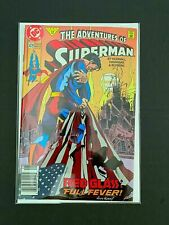 ADVENTURES OF SUPERMAN #479 DC COMICS 1991 VF NEWSSTAND EDITION