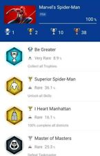 Marvel's Spider Man Ps4 - Platinum Trophy