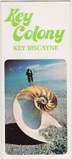 1970's Key Colony Motel Key Biscayne Brochure