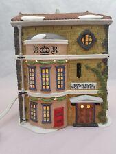 Dept. 56 Dickens' Village Series King'S Road Post Office #5801-7