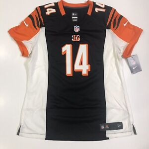 Nike NFL Cincinnati Bengals Andy Dalton Game Jersey 469895-010 Women's Size XL