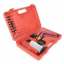13pc Car Handheld Vacuum Pressure Pump Brake Bleeder Gauge Fluid Tester Tool Kit