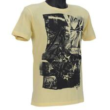 Oakley Flag NZ Tee Yellow Size M Mens Medium Zealand Logo Tshirt T-shirt