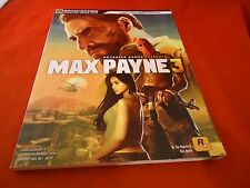 Max Payne 3 XBox 360 Playstation 3 PS3 PC Strategy Guide Player's Hint Book