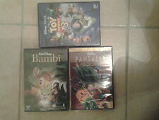 24651//FANTASIA 2000 EDITION SPECIALE + BAMBI + TOY STORY 3 IMPORT LANGUE FRANCA