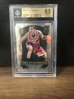 2013-2014 SELECT GIANNIS ANTETOKOUNMPO ROOKIE CARD BGS 9.5 GEM MINT! (QUAD 9.5)