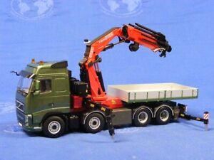 WSI 04-1091 Volvo FH3 Globetrotter 8x4 w/Fassi F1300 Crane 1/50 MIB