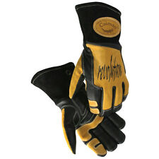 Caiman 1832 Mig/Stick Welding Gloves,Cow Grain Leather, Kevlar Stitched, X-Large
