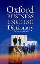 Oxford Business English Dictionary (Elt)-ExLibrary
