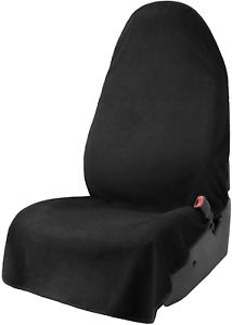 Leader Accessories Black Waterproof Sweat Towel Car Front Seat Cover for Truck &