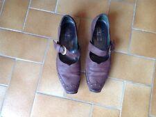 Chaussures cuir marron TTBE