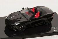 Jaguar F-Type V8-S Black, official Jaguar dealer model, IXO 1:43 scale