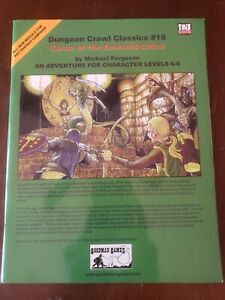 Dungeon Crawl Classics - #16 Curse of the Emerald Cobra Adventure Module