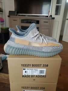 Adidas Yeezy Boost 350 V2 Israfil Size 8.5 US Men DS 100% Authentic