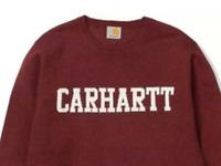 Carhartt College WIP Jumper Crew Neck in Chianti red Brand New size medium