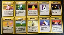OLD Original Vintage Pokemon Cards Complete Base Rare Trainer Set NM PSA Quality