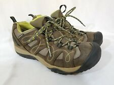 🔥 Keen Womens Waterproof Low Leather Hiking Walking Athletic Shoes Size 9 🔥