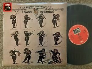 ASD 3384 Itzhak Perlman Plays Paganini 24 Caprices HMV STEREO UK 1st B/W   NM