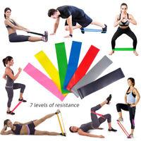 Bande de Résistance pr Femme Homme  Yoga Pilates Bandes Elastique Fitness