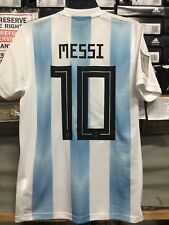 694a936e7c1 Adidas Argentina Home Jersey  10 Messi Russia 2018 Edition Size XXL Long  Sleeve
