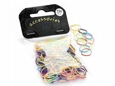 Bright Coloured Mini Elastic Bands for Braids or Cornrows Hair Accessories UK