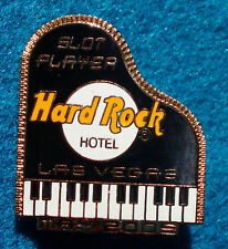 LAS VEGAS HOTEL Hard Rock Cafe SLOT PLAYER SERIES CONCERT GRAND PIANO 2005 PIN