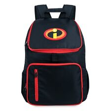 New The Disney Store The Incredibles 2 Back to School Backpack with Logo Nwt