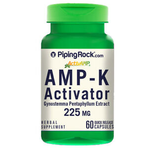 AMPK Metabolic Activator, 60 Capsules Gynostemma pentaphyllum 225mg
