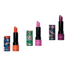 Almay Lip Vibes Lipstick, with Shea Butter and Vitamins E and C
