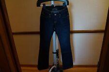 100% Authentic New Women ROBIN'S JEAN SPAC8711 1970 sz 27 Blue Denim Bootcut Leg