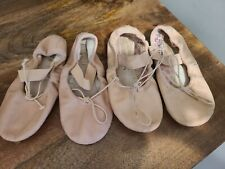 Bloch Toddler Ballet Shoes Size 8 and 9.5 lot
