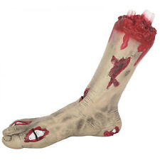 Halloween Horror Party Gruesome Severed Zombie Foot Limb Prop Decoration
