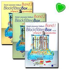 Blockflötenbox von Hellbach Daniel mit bunter herzförmiger Notenklammer