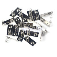30Pcs AA Battery Positive Negative Conversion Spring Contact Plate HE