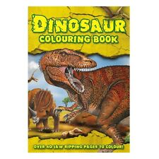 Dinosaur A4 Colouring Book 48 Different Pages To Colour Kids Activity T Rex