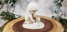 Precious Moments His Little Treasure ©1993 Members Only Figurine Enesco Pn Pm931