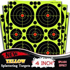 50Pack  4'' Circle Bullseye Splatter and Sefl Adhesive shooting Target Paper