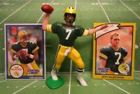 1990  DON MAJKOWSKI Starting Lineup Football Figure & Cards - GREEN BAY PACKERS