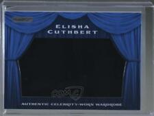 2010 Razor Cut Signature Edition Wardrobe Blue #SW--24 Elisha Cuthbert Card 0c3
