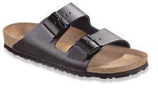 Birkenstock Arizona Glattleder Unisex Schuhe Schlappen Sandalen Fu�Ÿbett NEU