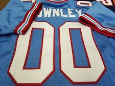 #00 Houston Oilers Custom Football Jersey Name&Number sewn ON.