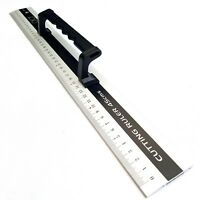 Jakar 45cm Aluminium Ruler With Handle DIY Hand Tool Rule Straight Edge Cut 3027