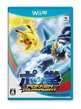 Wii U Pokemon POKKEN TOURNAMENT Japan Import Japanese Game