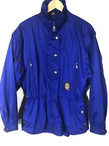 Sunice Golf Size Medium Jacket Women's Windbreaker Walking  Royal Blue