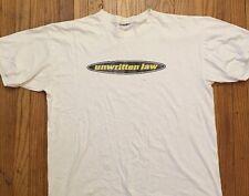 Vtg 1996 Unwritten Law-New Found Glory oz factor Blink-182 MXPX T Shirt Sz XL