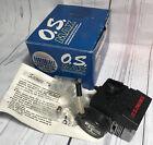 Vintage New O.S. ENGINE MAX POWERBLOCK 12LD-x 11180 .12  12 Ld X Nitro Engine