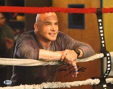 Bas Rutten Signed 11x14 Photo BAS Beckett COA UFC Here Comes the Boom MMA Movie